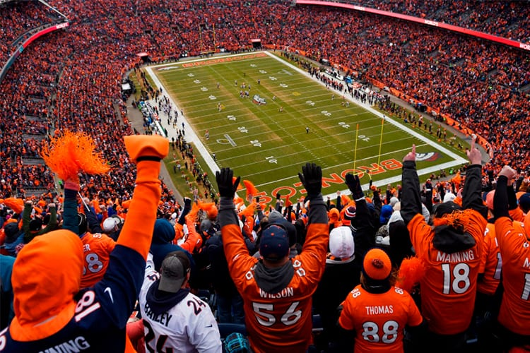 Broncos Game Denver Day