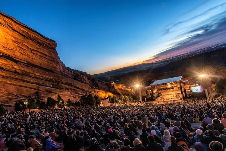 Red Rocks Amphitheatre Denver Day Trip
