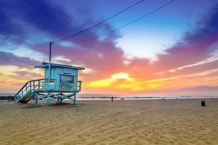 Beach LA Day activity