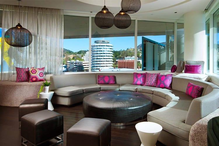 W Hollywood LA Famous Hotel