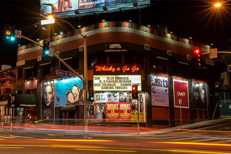 Whisky A Go Go West Hollywood LA Bar