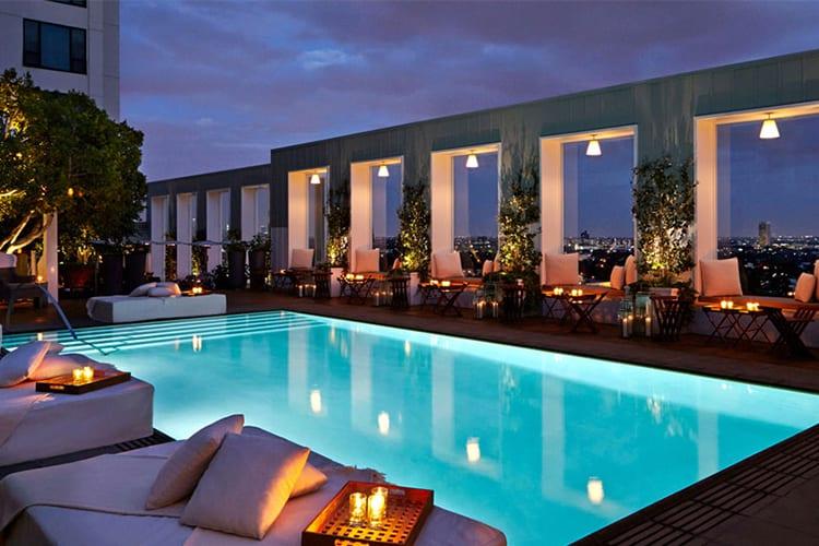 Skybar Mondrian LA Rooftop Bar