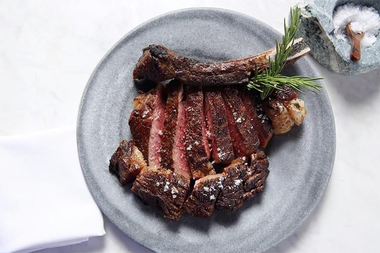 Bazaar Meat by Jose Andres Las Vegas Meal