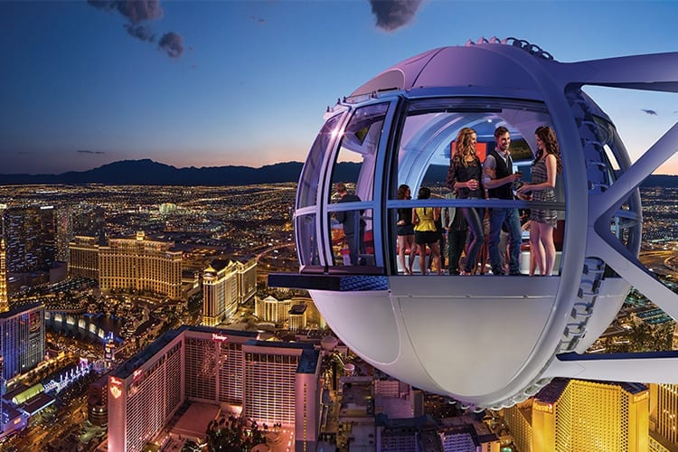 Charmant High Roller Las Vegas Rooftop Bar