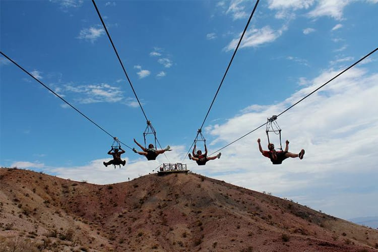 Flightlinez Bootleg Canyon Las Vegas Adventure
