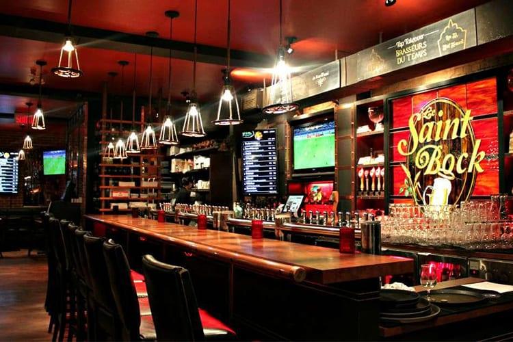 Le Saint Bock Montreal Beer Bar