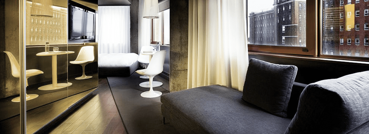 Over The Top Hotel Suites In Montreal