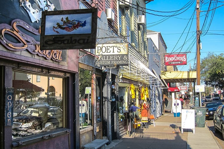 Magazine Street New Orleans Day