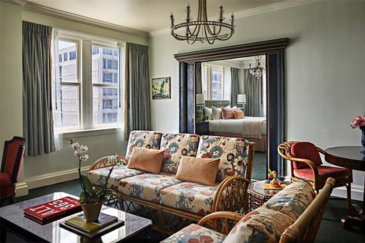 Pontchartrain Hotel Melpomene Suite New Orleans