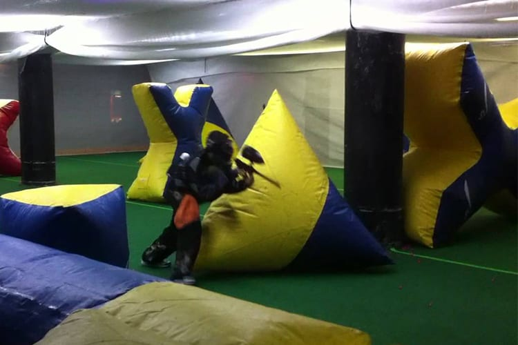 Laser tag and Paintball NYC Guy Activity