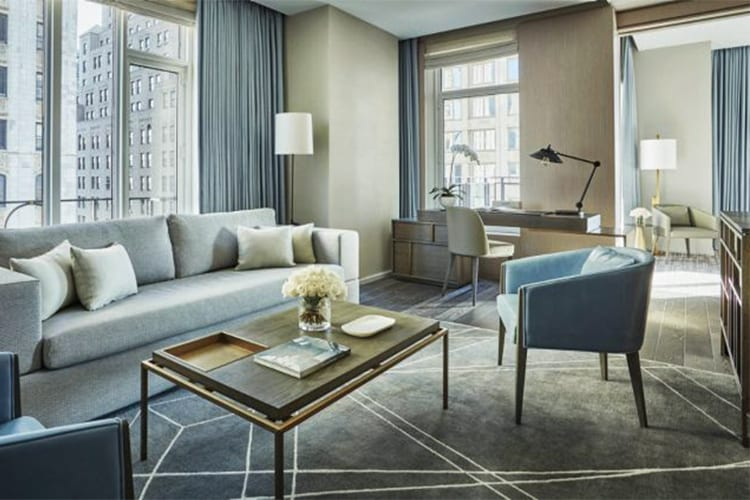 Four Seasons NYC Downtown Suite