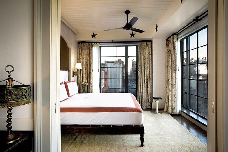 One Bedroom Suite Bowery Hotel NYC