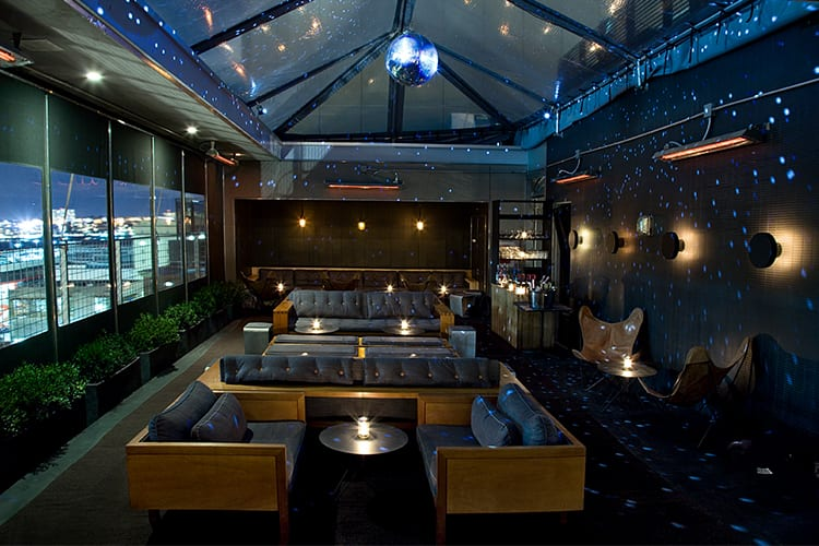 Best hotel rooftop bars in nyc for a bachelor party for La piscine restaurant new york