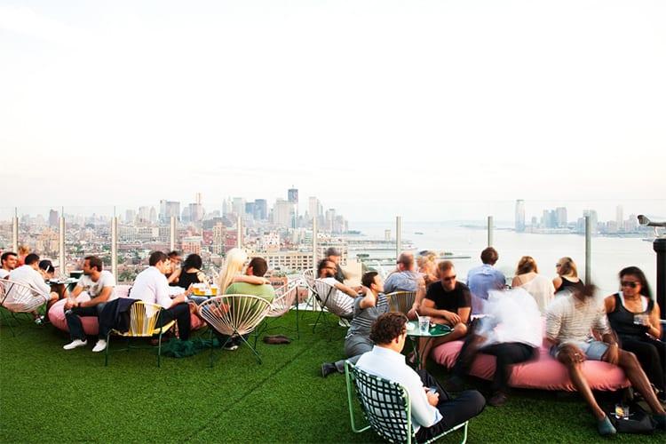 Le Bain The Standard NYC Rooftop Bar