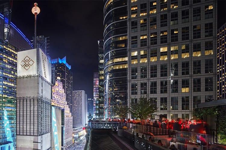 St Cloud The Knickerbocker NYC Rooftop Bar
