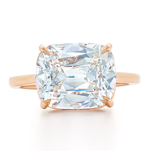 kwiat cushion engagement ring the plunge