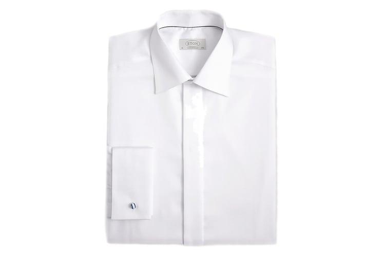 Eton Classic Diamond Tuxedo Shirt