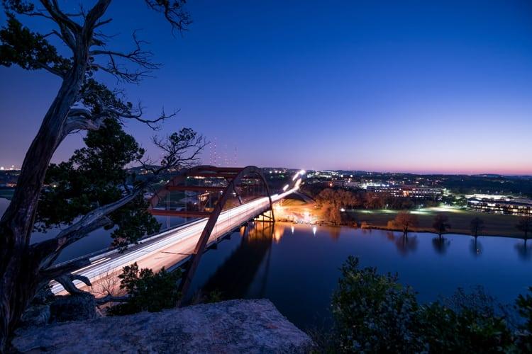Pennybacker Bridge 360 Overlook