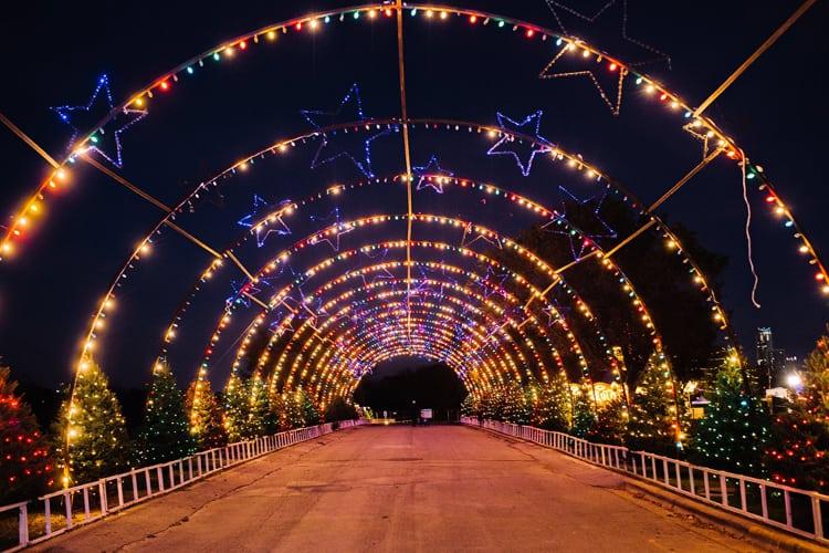 Zilker Park Trail of Lights