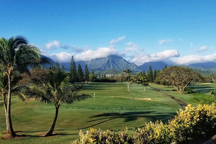 Hawaii bachelor party golf