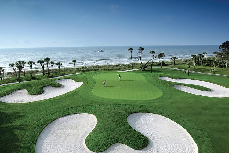 Bachelor party golf in Hilton Head