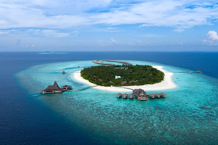 Anantara Kihavah Maldives Villas in the Maldives from Star Wars Rogue One
