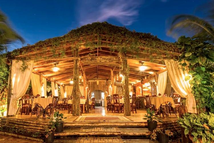 View of Hidden Treasure Restaurant