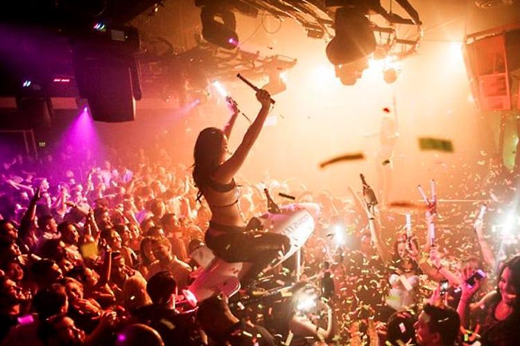 San Diego Bachelor Party - Fluxx nightclub