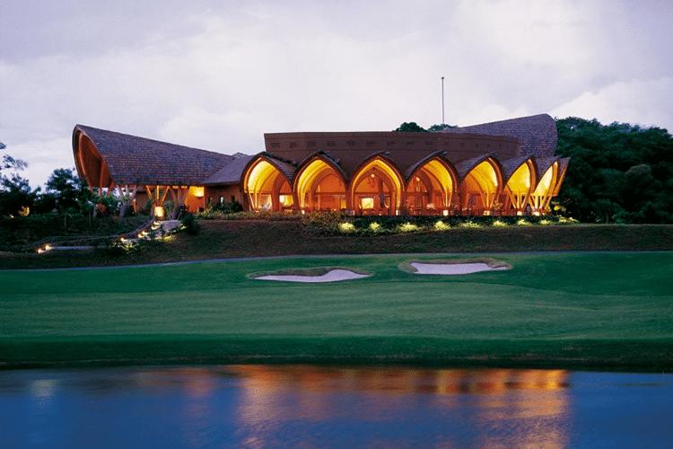 Best Honeymoon Restaurants in Costa RIca - Caracol golf course restaurant