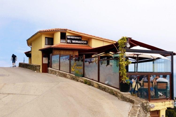 Best Honeymoon Restaurants in Costa RIca - El Mirador outside view
