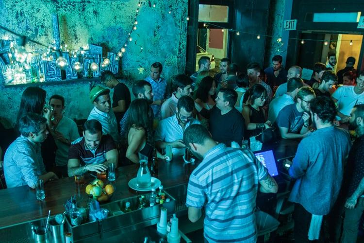 Puerto Rico Bachelor Party - bar crawl at La Factoria