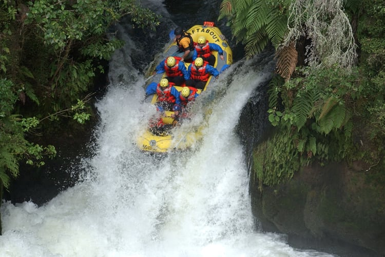 Bachelor Party Extreme Sports - White water rafting