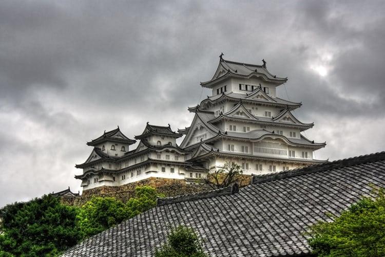 Haunted Honeymoon - Japanese castle
