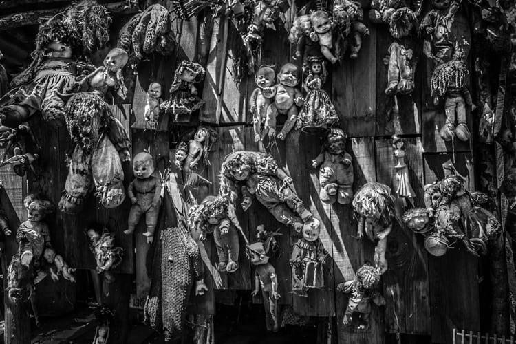 Haunted Honeymoon - skeletons in an urban underworld
