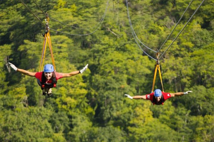 Classic Honeymoon Activities in Costa Rica - Zip Lining