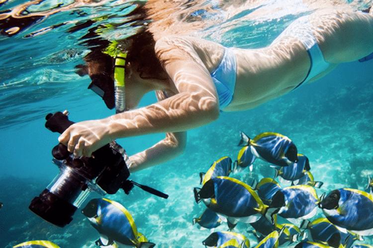 Romantic Honeymoon Activities in Costa RIca - Tortuga Island Snorkeling