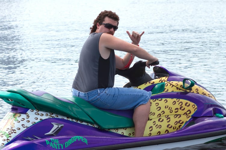 Tampa Bachelor Party - Jet Skiing with Eastbound and Down