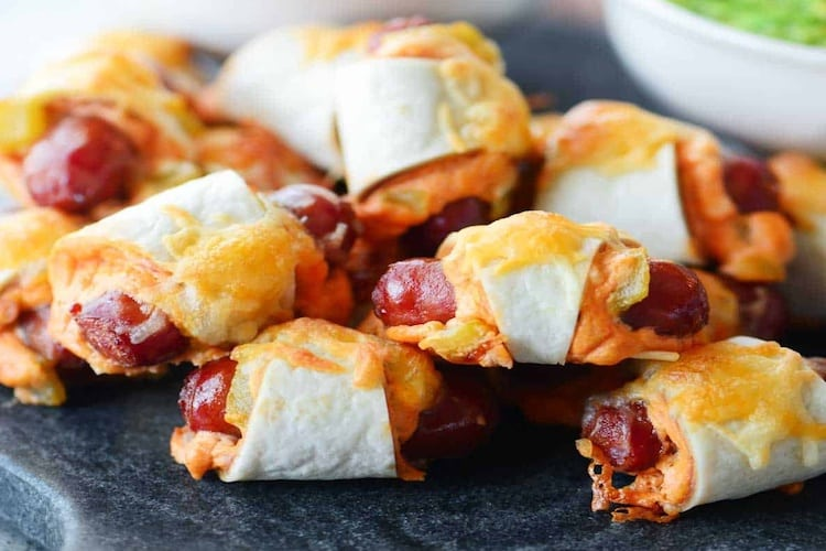 Mexican Appetizers - Mexican Pigs in a Blanket