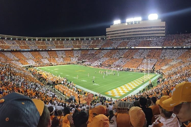 College football in Tennessee
