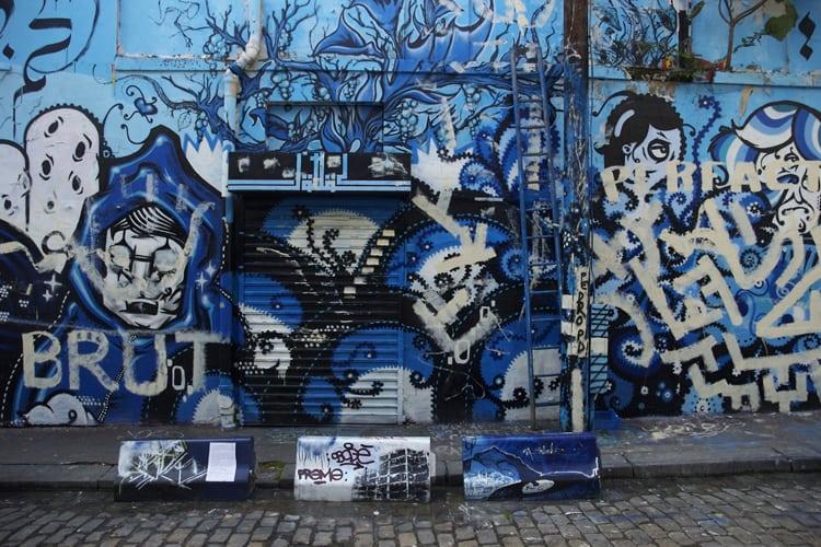 Graffiti in Paris, France