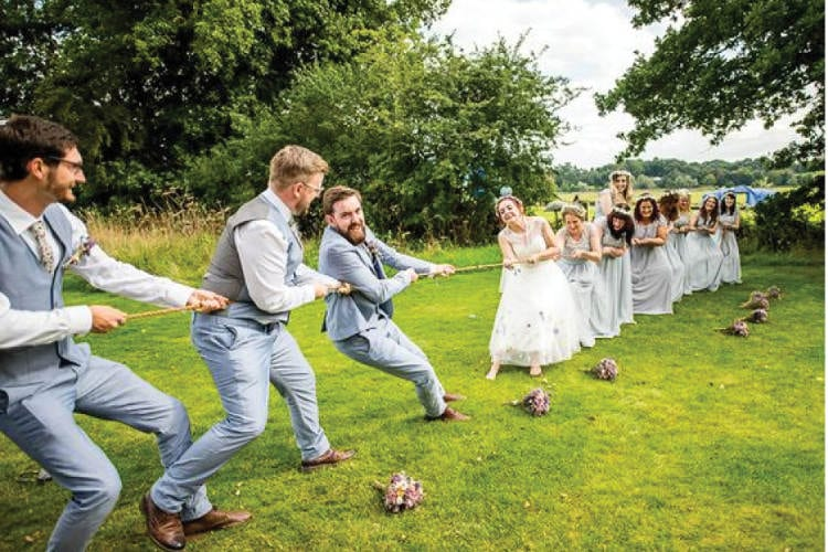The Best Wedding Games For The Reception  The Plunge