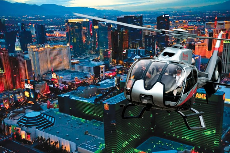 Las Vegas Honeymoon Guide - Helicopter Tour