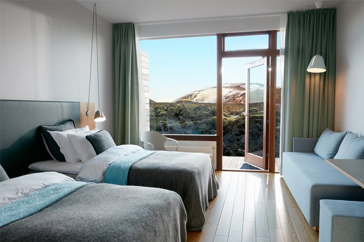 Iceland Honeymoon Guide - Silica Hotel Suite
