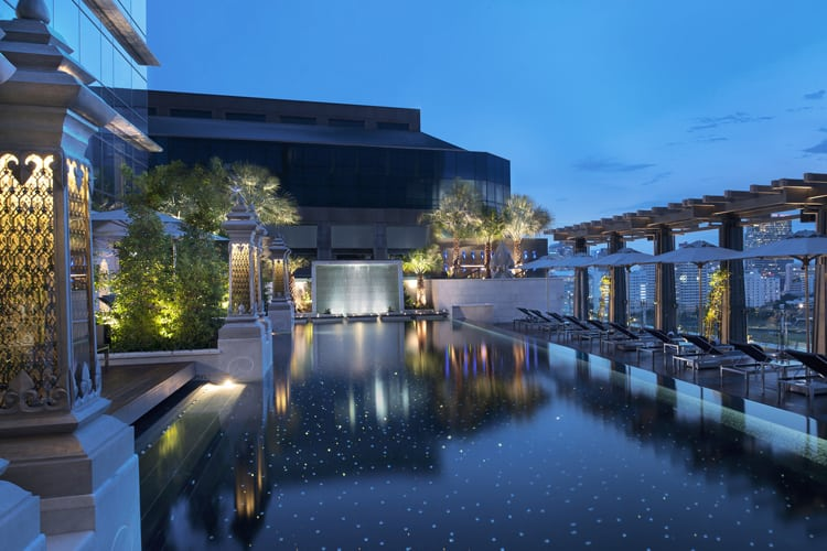 Mexico Honeymoon Guide - Mexico City St. Regis pool