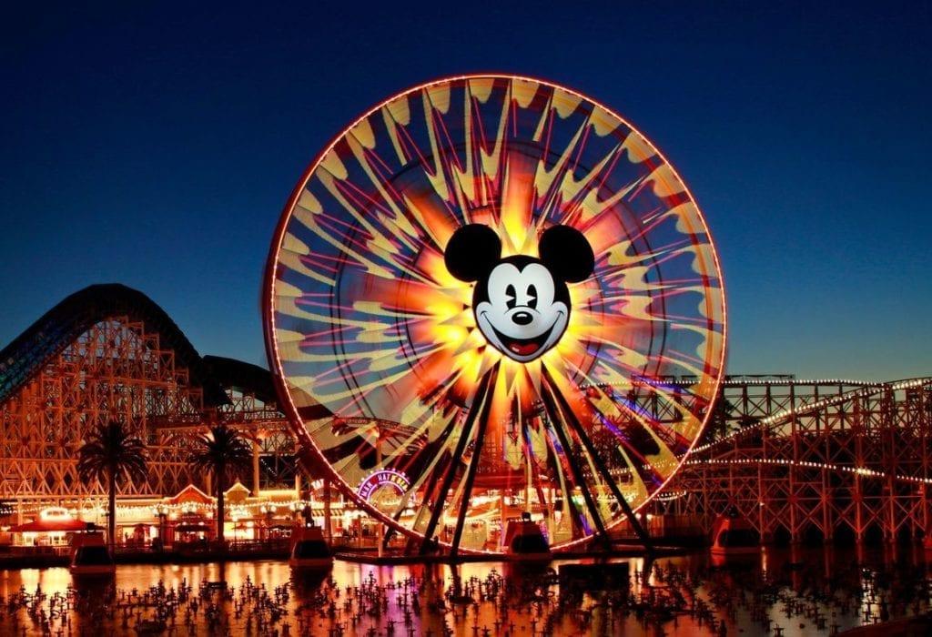 The ferris wheel at Disney's California Adventure