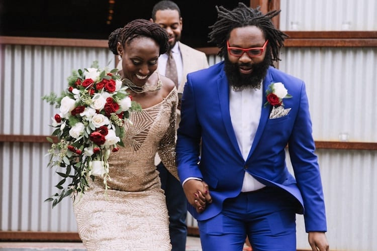 Real Looks From Real Grooms: Going Royal