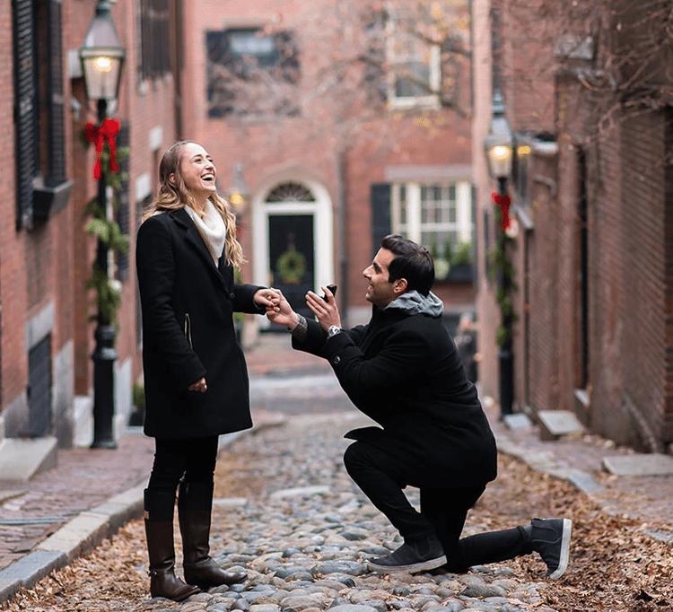 Finding Romance <br> in Boston </br>