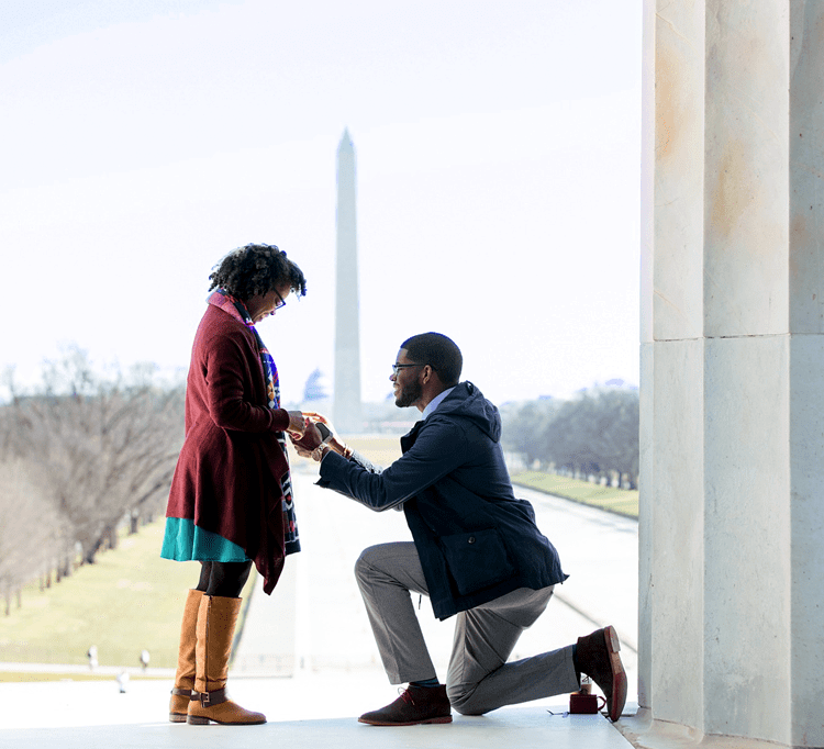 A Powerful Proposal <br> in Washington D.C. </br>