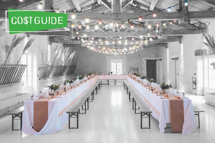 How Much Does A Wedding Venue Cost The Plunge