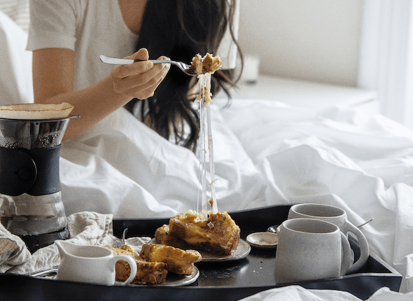 The Breakfast-in-Bed Proposal